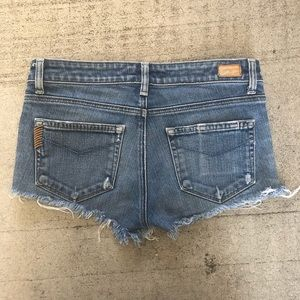 Paige Hollywood Hills cutoff shorts size 27